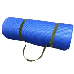 Amber 1/2-Inch Extra Thick Exercise Yoga Mat with Carrying Strap