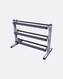 "Body-Solid 40"" 3-Tier Dumbbell Rack"