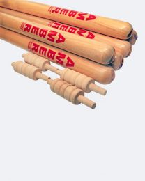 Amber Cricket Wooden Stumps & Bails Set